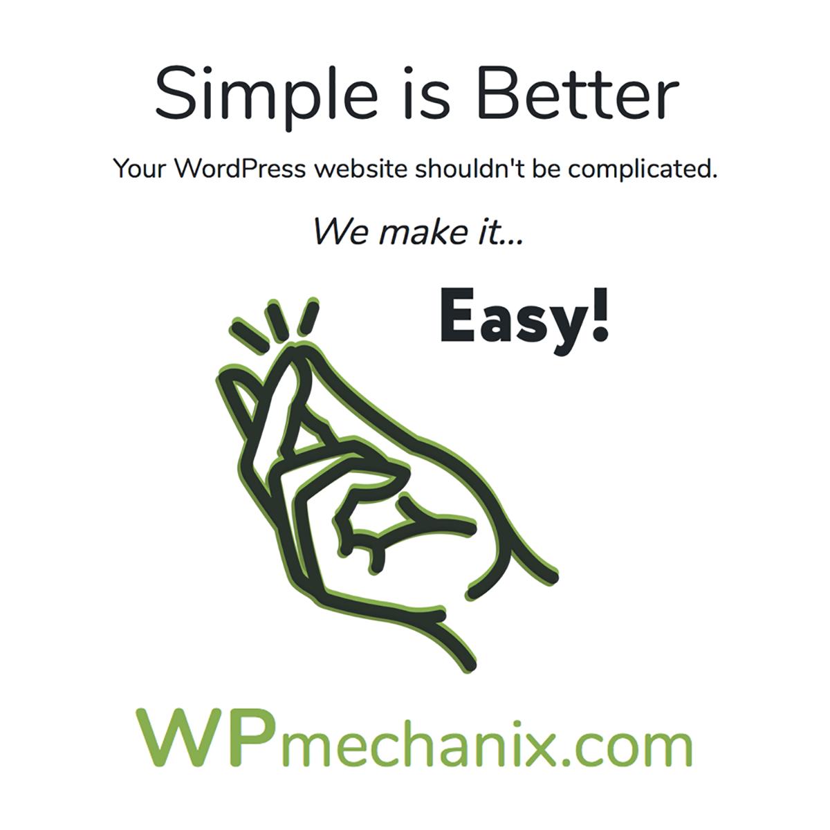 Managed WordPress Services by WPmechanix.com
